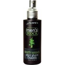 Aubrey organics men's stock north woods aftershave balm