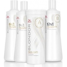 Wella professionals blondor freelights developer