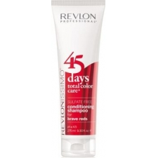 Revlon professional 45 days conditioning shampoo brave reds