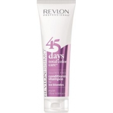 Revlon professional 45 days conditioning shampoo ice blondes