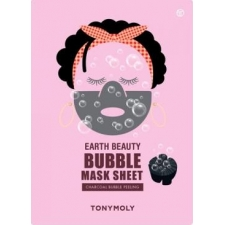Tonymoly earth beauty bubble mask sheet