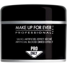 Make up for ever artificial blood dried effect