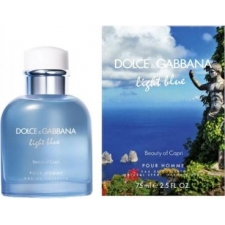 Dolce & gabbana light blue p homme - beauty of capri edt